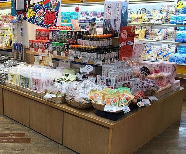 八景島シーパラダイス・おみやげコーナーにて