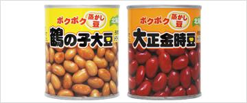 ポクポク豆缶