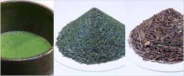 有機の緑茶・玄米茶・番茶・抹茶